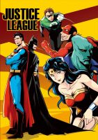 Justice League by edgarlll