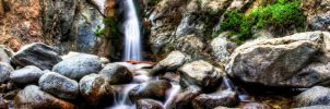 Waterfall Wallpaper by docskalski