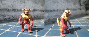 King Shisa, Holy Guardian of Okinawa by Mexicankaiju