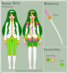 RGU - Ayame Reference Sheet by theRainbowOverlord