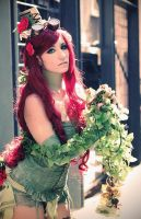 Poison Ivy steampunk version - by Daisy-Cos