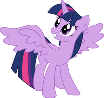 Twilight Sparkle Vector by TheSketchyPony