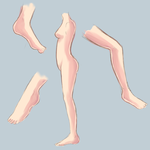Anatomy study 1 - Critique me please by Luumies
