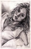 Shakira portrait by Caricatureart