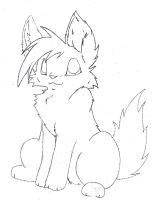 Free Fox Lineart by ThrushFeather