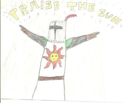 Praise the sun - Solaire by Gladiatuss