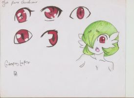 Gardevoir eyes by Creepy-Lady