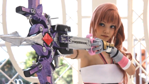 Final Fantasy XIII-2 Serah Cosplay by Obessedichirukifan