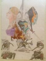 Zelda Twilight Princess Drawing by Chaoslink1