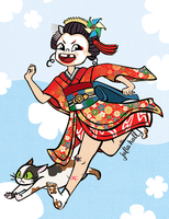 Maiko by m-dugarchomp