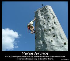 Perseverance Poster by Aideon