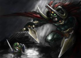 Ganon's Assault by thewordlesssignature