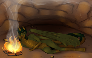 dragon's lair by dreameroftheblue