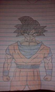 Goku base form by primeomega97