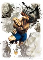super sf4 sagat by batguyz