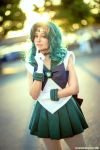 Sailor Neptune Cosplay by TechnoRanma