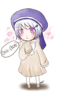 APH- Chibi Iceland by DinoTurtle