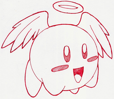Angelic Kirby by YoukaiHito