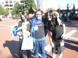 Kumoricon2012- Eridan Finally Gets Some Wwenches by KamiyaAkuto