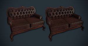 Victorian Furniture 1 by Deoce