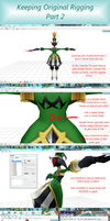 MMD Keep original Game rigging [Tutorial] P2 by 0-0-Alice-0-0