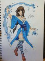 Water Bender: Victoria by BlackRoseDestiny