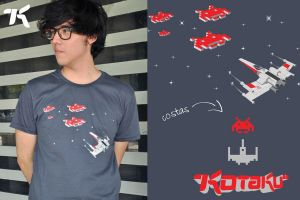Space War T Shirt by ChamaCamisetas