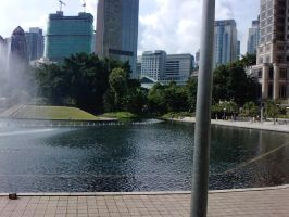 A clear day at KLCC 2 by HorsesPlease