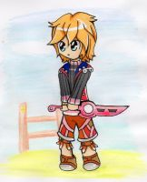 Xenoblade chronicles - Shulk by lollypop071