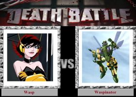 Death Battle: Wasp vs Waspinator by SithVampireMaster27