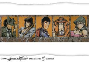 LUPIN III 2nd TV series by handesigner
