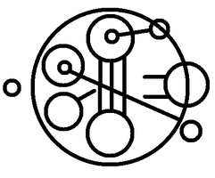 My Name in Gallifreian by macmcjones