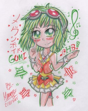 Gumi-HB~ by Monsethehedgehog