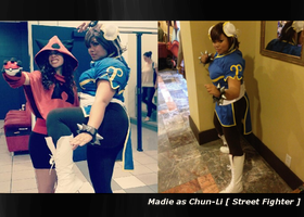 Chun-li @ ChibiPa and Geekfest by AkuseruReno