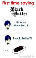 Black Butter by carolcchi