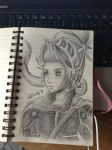 Onion Knight :: Sketch :: Dissidia FF by Kastella72