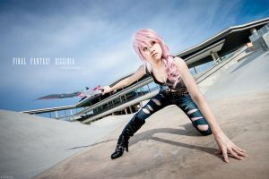 Final Fantasy Dissidia-Lightning by josephlowphotography