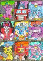 Transformers Sketch Cards 2 by zaymac