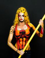 Cheetara Bodypaint by KayPikeFashion