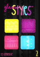 Glass Styles 2 By Annielove by Analaurasam