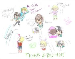 Tiger bunny lulz by Chanberry