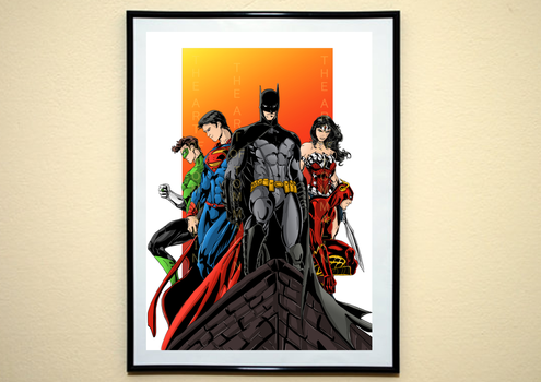 Justice League by malin128
