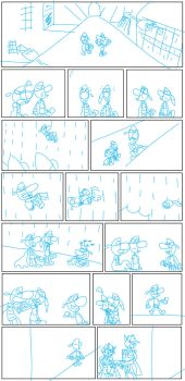 Twipsy Company Page 3 trailer sketch by NoxiaPrime