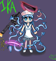 Weapon Ika Musume by foshizzel