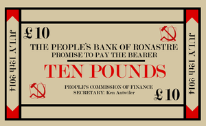 Ronastrese Ten Pound Note by Party9999999