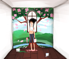 One Window by PastelBits