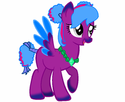 Purple Pony Auction (CLOSED) by FallenFateAdopts