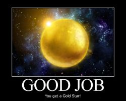 Good Job - Motivational Poster by ClintCearley