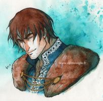Watercolor Joseph by OceanLord