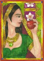 Snow White ACEO by ivoryleopard